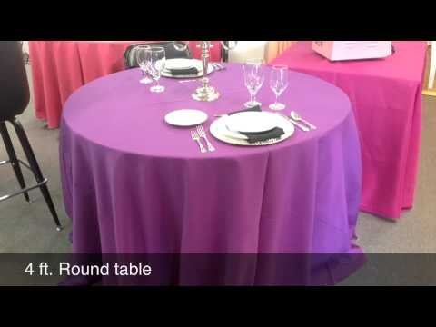 Lanier Tent Rental Has Tips On Table & Chair Rentals