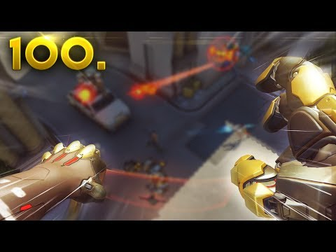 Incredible Korean Doomfist! | Overwatch Daily SPECIAL Ep. 100! (Funny and Random Moments)