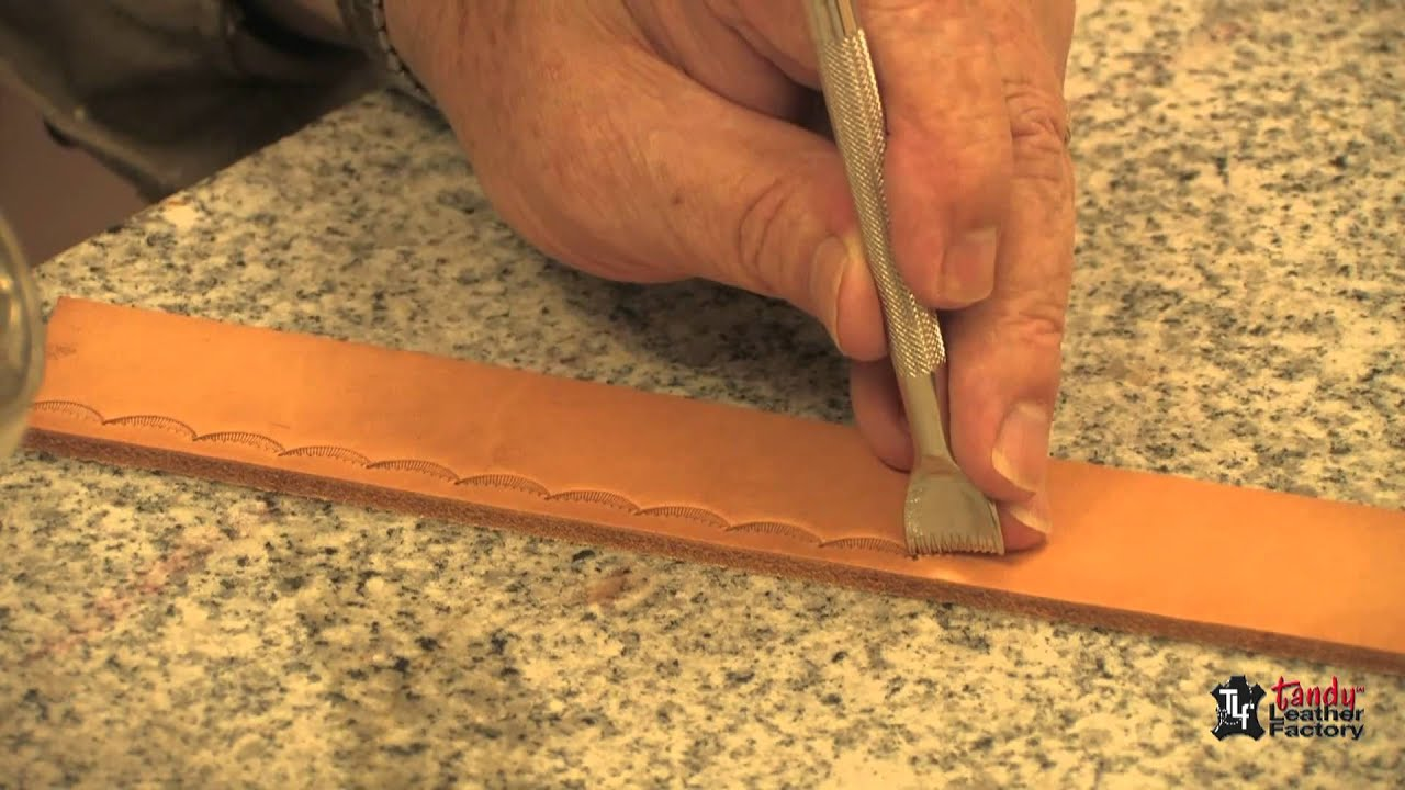 How To Stamp Leather