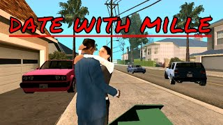 A successful date with mille | Gta San Andreas| thealltuber