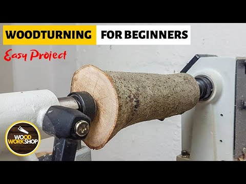 Woodturning For Beginners - Easy Project
