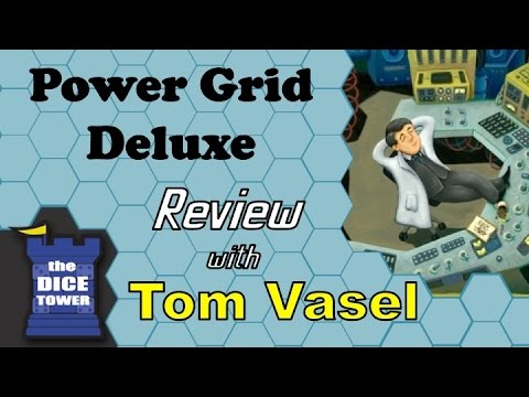 Power Grid Deluxe Review - with Tom Vasel