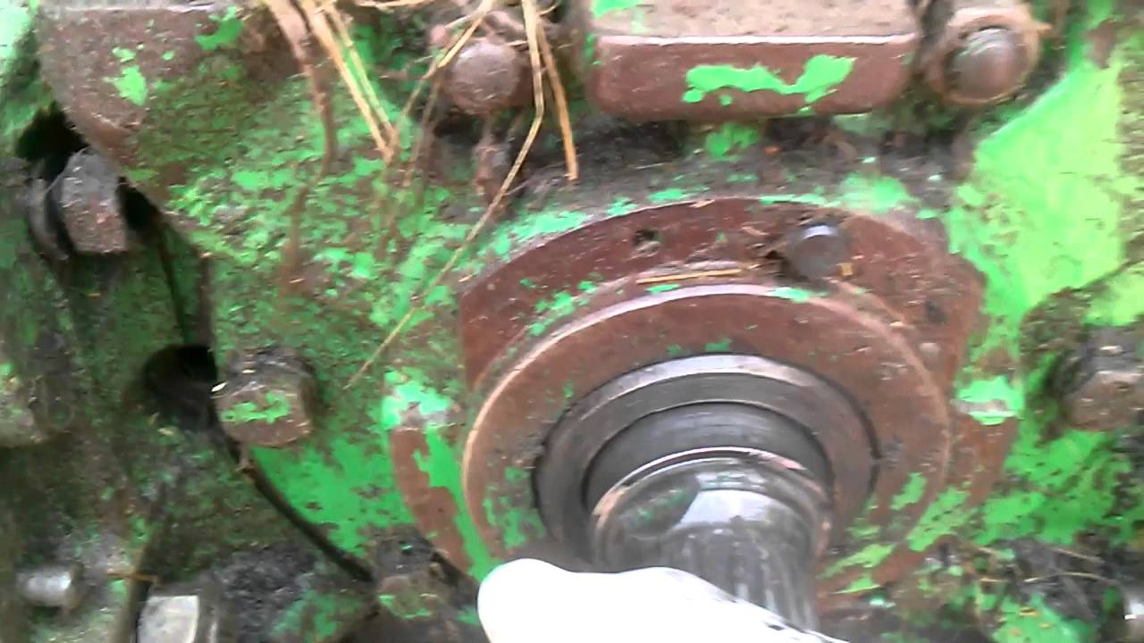 540 to 1000 PTO shaft change on JD 4430