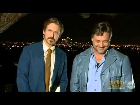 Ryan Gosling Crashes Russell Crowe's AACTA Speech