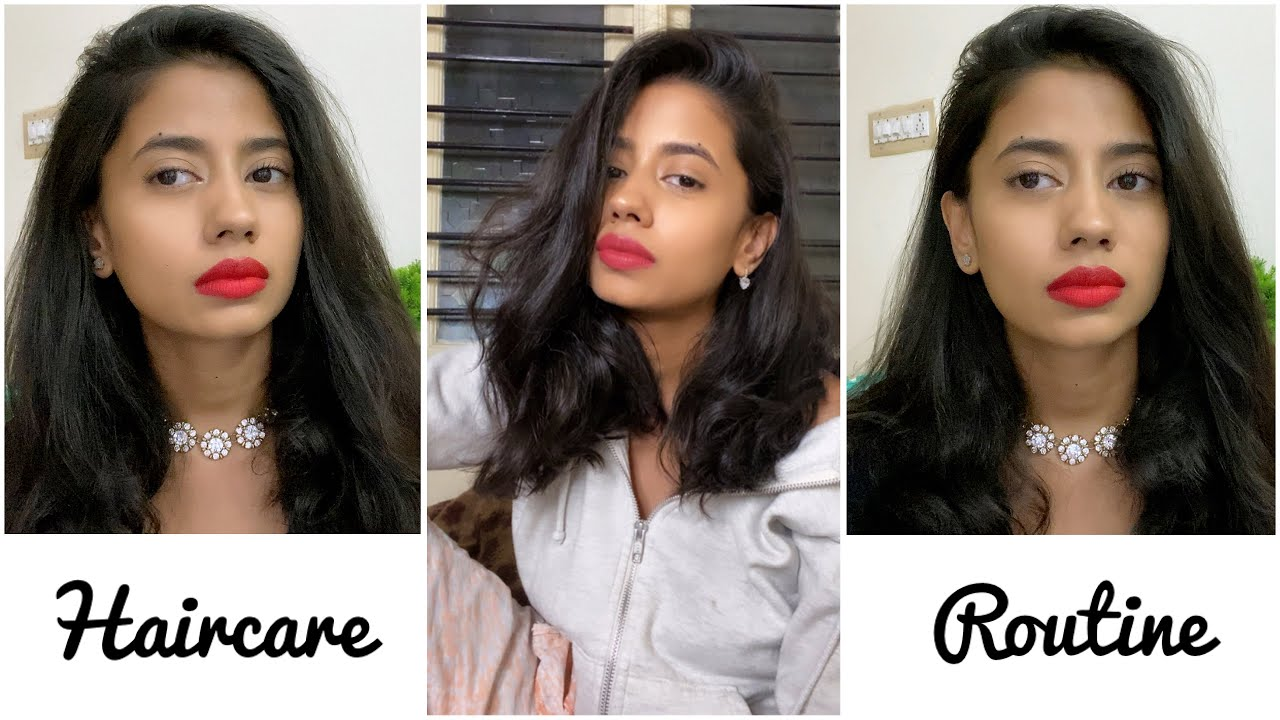 All the Products I Use for My Hair|Haircare Routine 2020|
