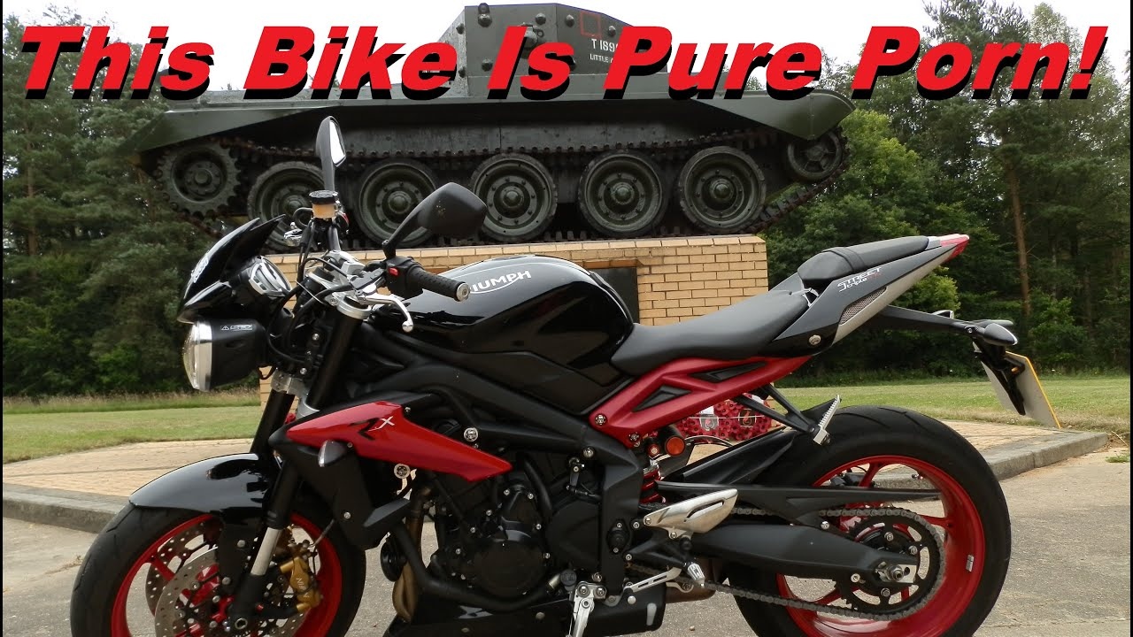2016 triumph street triple rx test ride youtube. Black Bedroom Furniture Sets. Home Design Ideas