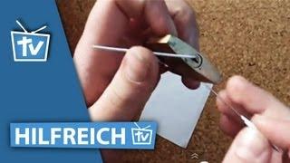 Schlösser knacken - Verriegelungen umgehen ohne Schlüssel zu nutzen