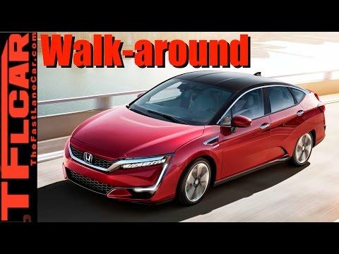 Live! 2017 Honda Clarity Fuel Cell Walkaround