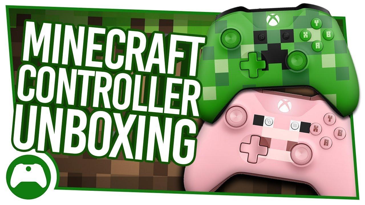 Controle Xbox One S Minecraft Creeper Wireless Original