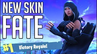 'NEW SKIN' - FATE - FORTNITE Battle Royale [No Commentary Gameplay]