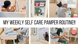 MY PAMPER NIGHT ROUTINE // AT HOME SELF CARE // Jessica Tull