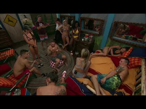 BB21 Live Feeds | The Houseguests Comfort Sam After Hearing His Wife's Grandfather Died 😢