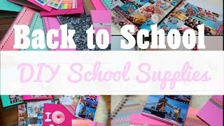 Back to School | DIY School Supplies ! Thumbnail