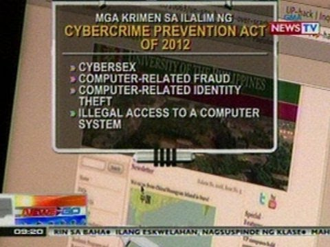 NTG: Cybercrime Prevention Act, ganap nang batas matapos malagdaan ni PNoy