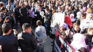 Midyat'ta, Sokağa Çıkma Yasağı Protestosu - Video