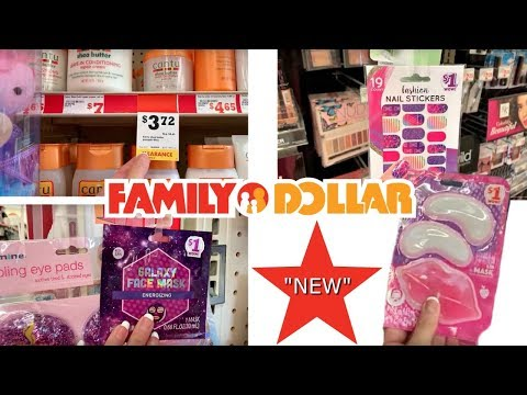 $5 AND UNDER MAKEUP + BEAUTY AT FAMILY DOLLAR!!!!