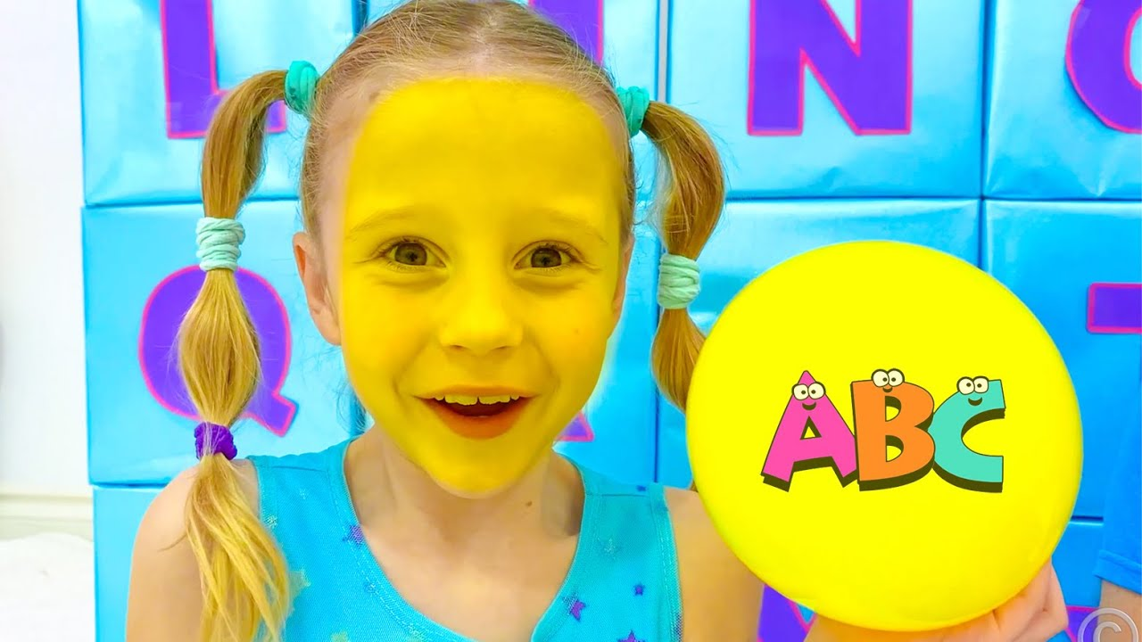 ABC Learn English Alphabet with Nastya and dad