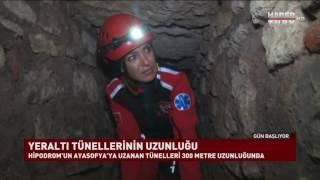 İşte Ayasofya'ya uzanan Bizans tünelleri!