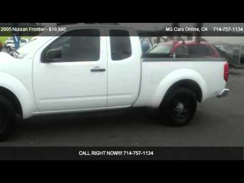 2005 Nissan Frontier Xe King Cab 2wd For Sale In Garden Grove Ca