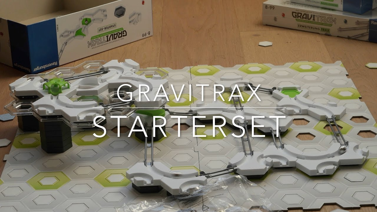 gravitrax starter set 27590 youtube