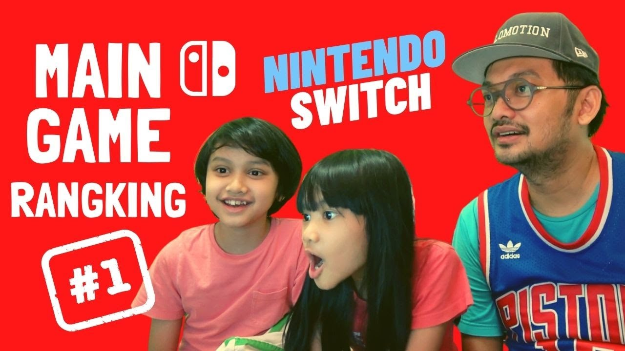 MAIN GAME NOMER SATU DI NINTENDO SWITCH!