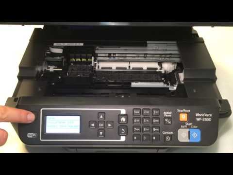 Repeat How to Remove Jammed Paper (Epson XP-900,XP-720,XP
