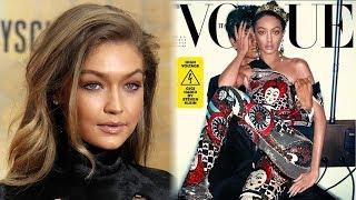 Gigi Hadid APOLOGIZES For 'Black Face' Vogue Magazine Cover