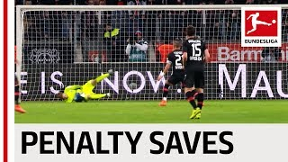 Top 10 Penalty Saves 2016/17 - Stunning Saves from Fährmann, Adler,  Sommer & Co.