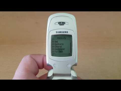 Samsung A800 ringtones