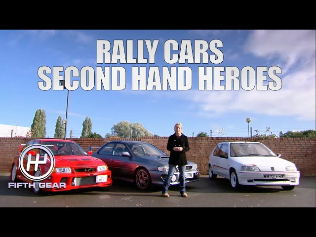 The best second hand Rally cars you can buy | Fifth Gear