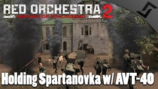 Holding Spartanvoka with AVT-40 Red Orchestra 2 Multiplayer Gameplay