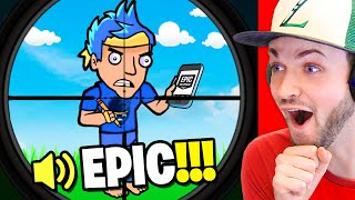 *NEW* NINJA RAGES and CALLS EPIC GAMES! (Fortnite Animations)