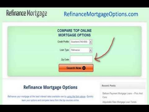 Compare Refinance Mortgage Rates Fast and Easy