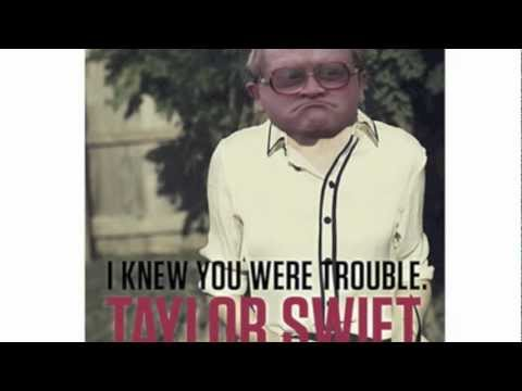 Taylor Swift I Knew You Were Trouble Dick Patterson cover