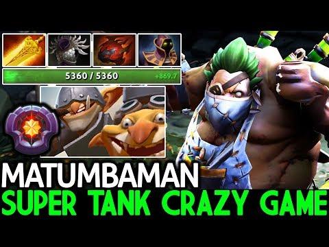 Matumbaman [Pudge] Super Tanky VS Master Tier Techies 7.21 Dota 2 thumbnail
