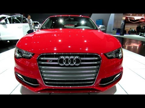 2013 Audi S5 - Exterior and Interior Walkaround - 2012 Los Angeles Auto Show