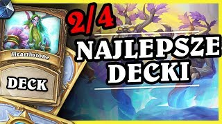 NAJLEPSZE DECKI 2/4 - TOKEN DRUID - Hearthstone Deck (Rise of Shadows)