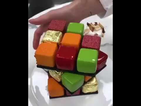 Торт Кубик Рубика, МК - У самовара - Украшение тортов 5