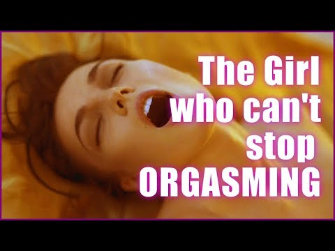 Girl cant stop orgasming