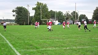 Toss Pass Touchdown HH Freshman Football