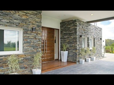 100 Home exterior wall design ideas 2020 - YouTube
