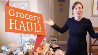 Grocery MEGA Haul + Meal Photos