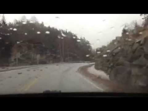 Driving Thru Southern Norway Fv461-E39-Fv465