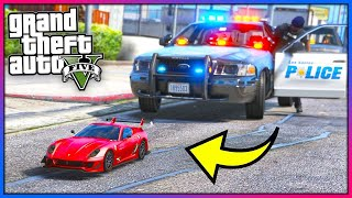 MY RC CAR GOT PULLED OVER!! (GTA 5 Mods - Evade Gameplay)