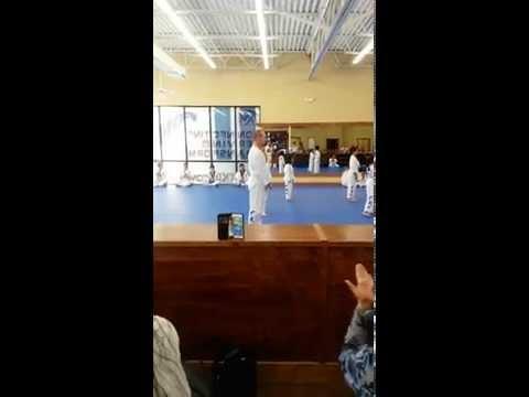 Matt Poom Sae Test for White Belt