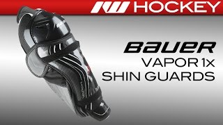 Bauer Vapor 1X Hockey Shin Guard Review