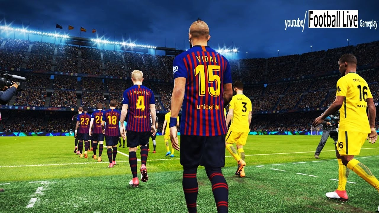 FC BARCELONA vs BOCA JUNIORS | Full Match & Amazing Goals | PES 2018 Gameplay PC - YouTube