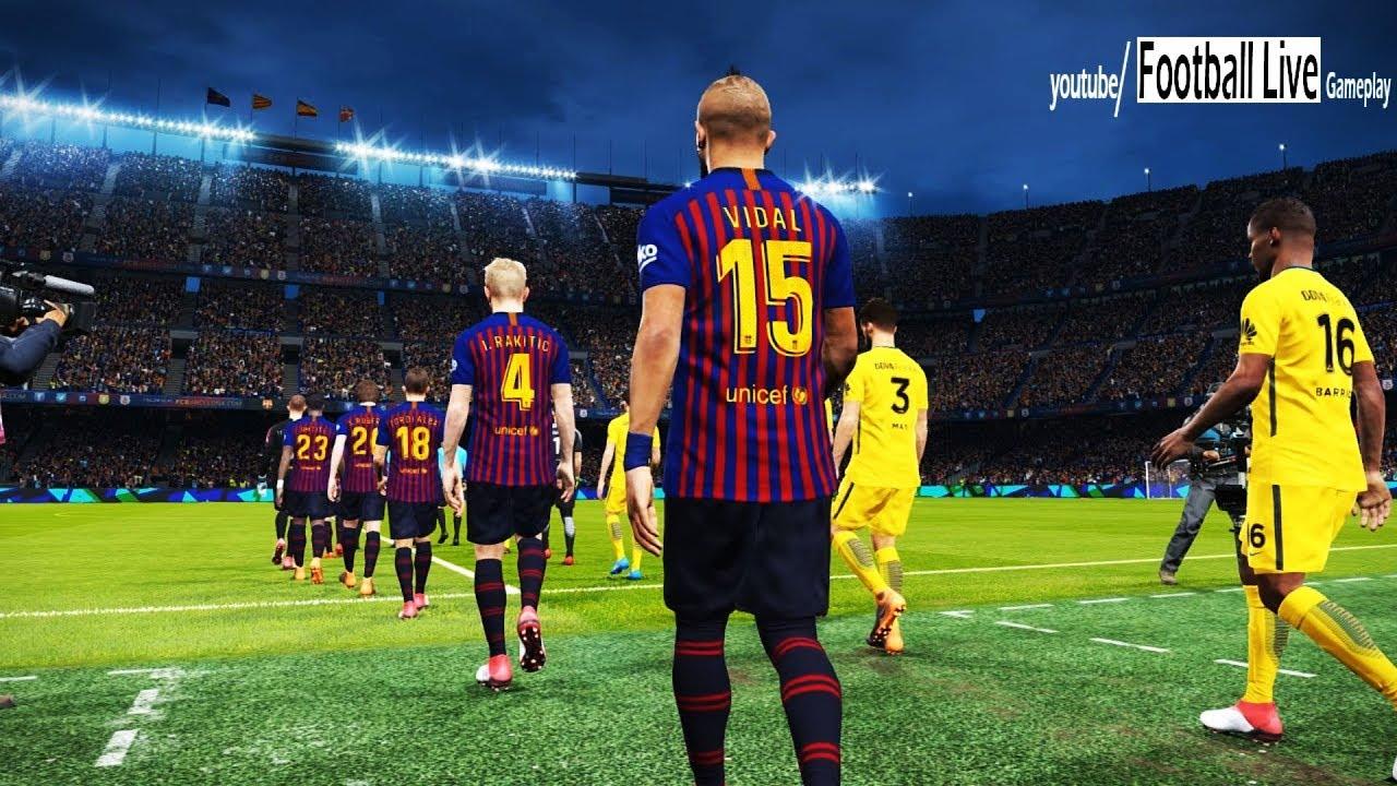 FC BARCELONA vs BOCA JUNIORS   Full Match & Amazing Goals   PES 2018 Gameplay PC - YouTube
