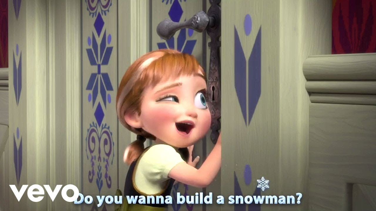 Do You Want To Build A Snowman From Frozen Sing Along Youtube