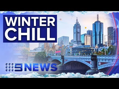 Melbourne Shivers Through Coldest Day Since 2000 | Nine News Australia